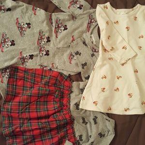 Three Gap dresses- 2T